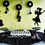 decoração anos 60 para festa 9