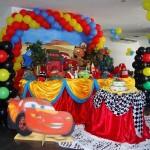 decoração carros festa infantil 3