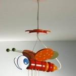 luminaria pendente infantil, modelos 5