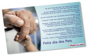 Mensagens Para o Dia dos Pais