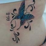 tatuagem nas costelas, ideias, fotos 6