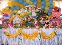 decoração de aniversario alice no pais das maravilhas2