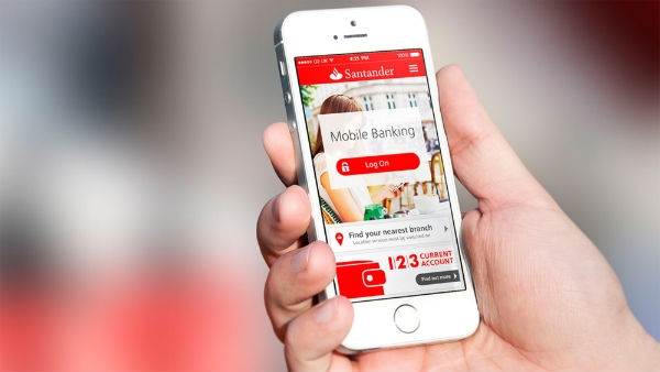 Banco Santander no Celular 2
