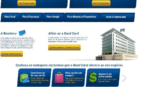 Suas compras são seguras com os cartões Good Card (Foro: Divulgação Good Card)
