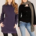 Roupas femininas para o inverno, modelos, fotos