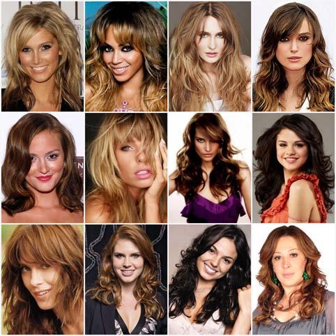 cabelos longos inverno 2011