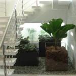 jardim de inverno embaixo da escada 8