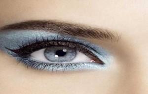 Maquiagem Azul como Fazer