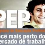 Inscrições PEP 2012 Cursos Profissionalizantes