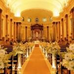 fotos de decoração de casamento na igreja 5