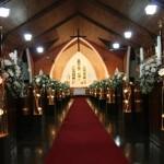 fotos de decoração de casamento na igreja 8