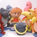decoração em espuma para festa infantil 3