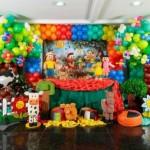 decoraçao de festa infantil com espuma 4