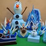 decoraçao de festa infantil com espuma 5