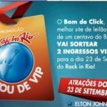 Ganhe Ingressos para o Rock in Rio