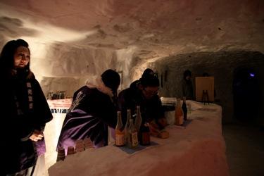 Local frio vira restaurante (Foto: Divulgação)