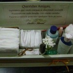 kit para banheiro de casamento
