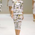 Vestido de renda da Dolce Gabbana