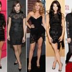 vestido-de-renda preto