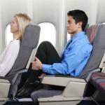 Exercícios para fazer durante um voo longo