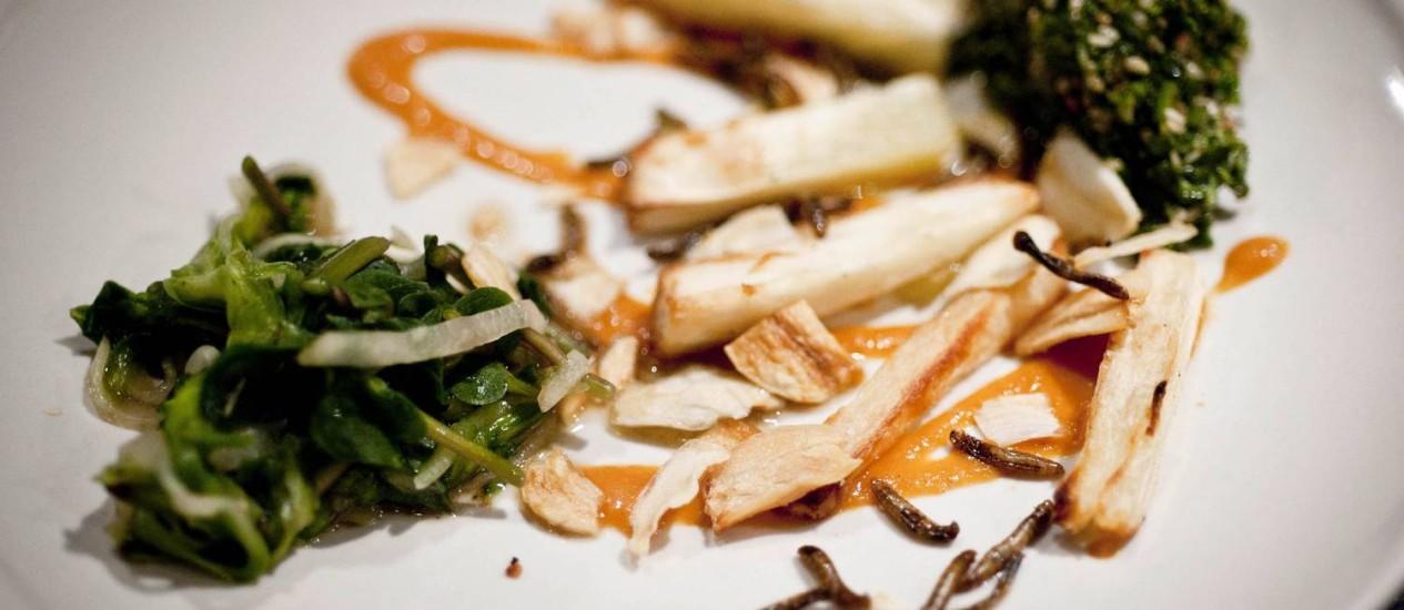 Restaurante serve insetos (Foto: Divulgação)