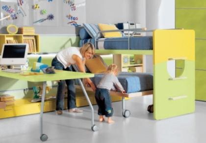 quartos infantis modernos