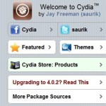 Cydia, loja alternativa da AppStore
