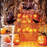 As abóboras são muito importantes na decoração de Halloween e elas podem se transformar em luminárias. (Foto: Divulgação)