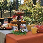 A mesa é um detalhe importante de toda festa de dia das bruxas. (Foto: Divulgação)