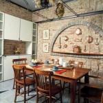 Sugestões de decoração interna com tijolos