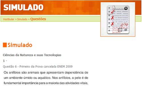Simulado Enem 2011im1