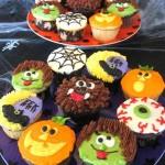 Basta soltar a imaginação e confeccionar lindos cupcakes de Halloween. Os cupcakes que imitam cemitério fazem sucesso nas festas de Halloween. (Foto: Divulgação)