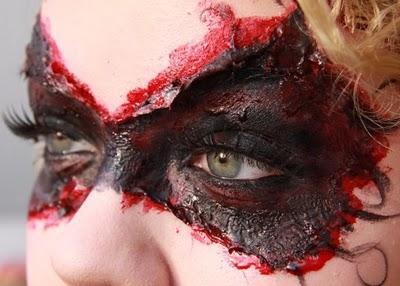Quanto mais real os machucados parecerem melhor será sua maquiagem de Halloween. (Foto: Divulgação)
