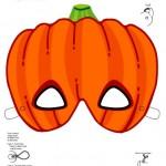 Geralmente as máscaras de Halloween são compostas pelos símbolos da comemoração. (Foto: Divulgação)