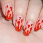 As unhas em chamas também são ótimas ideias para montar seu look de Halloween. (Foto: Divulgação)