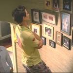 Fotografias antigas na parede