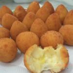 Receita de croquete de queijo