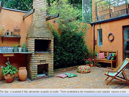 Sugestões para decorar o quintal com churrasqueira 1