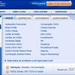 Principais serviços online da Caixa