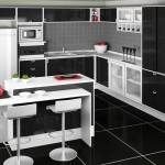 A cozinha em destaque na decoração