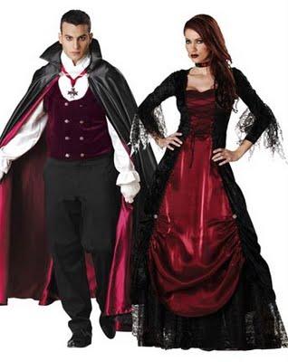 Casal Conde Drácula e esposa. (Foto: divulgação)