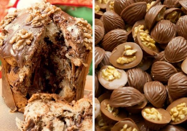 Chocotone trufado com nozes (Foto Divulgação: MdeMulher)