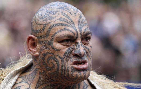 A cabeça dos guerreiros maori era considerada troféu. (Foto: divulgação)