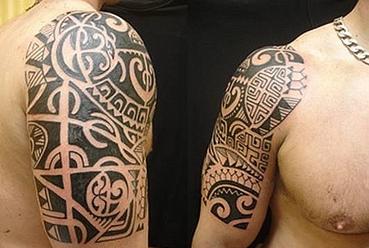 Mais um exemplo de tatuagem maior. (Foto: divulgação)