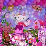 Use painéis e EVA, enfeites de isopor e balões. (Foto: Divulgação)