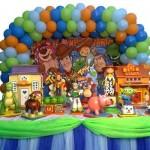 Tema Toy Story. (Foto: Divulgação)