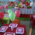 Sala decorada para aniversário infantil. (Foto: Divulgação)