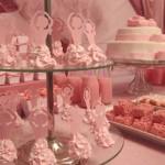 Uma delicada decoração de festa de meninas. (Foto: Divulgação)