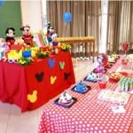 Festa infantil com tema Mickey. (Foto: Divulgação)