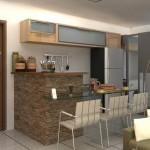 Cozinha moderna e bem estruturada